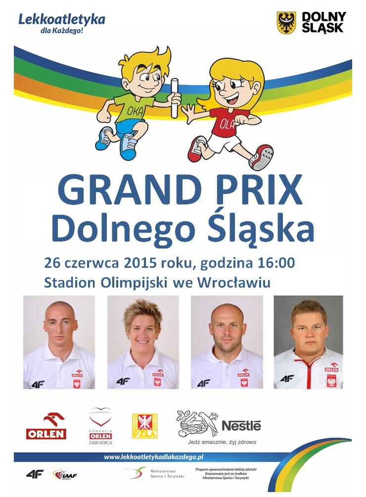 Lekkoatletyka dla każdego! Zaproszenie - Grand Prix Dolnego Śląska