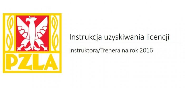 System uzyskiwania licencji Instruktora – Trenera