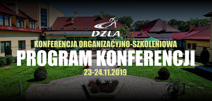 Program konferencji  23-24 listopada 2019