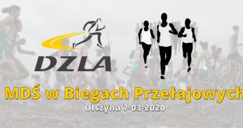 MDŚ w Biegach Przełajowych – Olszyna 07.03.2020r.