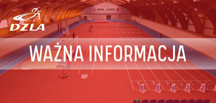 Halowe Mistrzostwa Dolnego Śląska 2021 – U16, U18 i U20