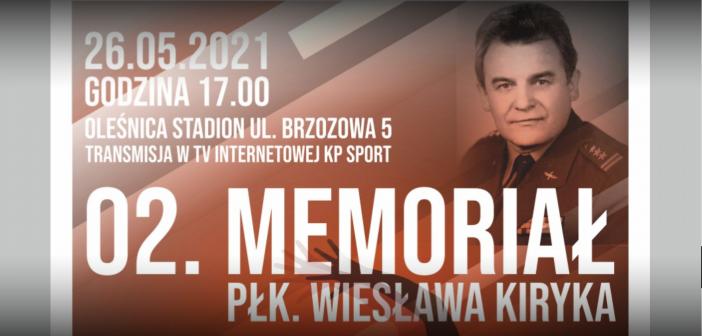 2 Memoriał płk. Wiesława Kiryka